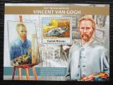 Poštovní známka Guinea-Bissau 2013 Umění, Vincent van Gogh Mi# Block 1156 Kat 10€