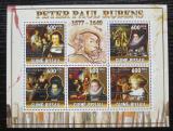 Poštovní známky Guinea-Bissau 2010 Umění, Peter Paul Rubens Mi# 5146-50 Kat 13€