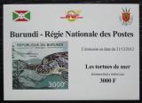 Poštovní známka Burundi 2012 Kareta pravá DELUXE Mi# 2791 B Block