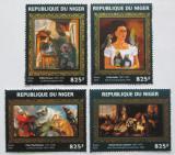 Poštovní známky Niger 2016 Umění, zvířata Mi# 4362-65 Kat 13€
