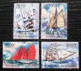 Poštovní známky Burundi 2012 Plachetnice Mi# 2481-84 Kat 10€