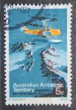 Poštovní známka Australská Antarktida 1973 Letadlo Gipsy Moth Mi# 24