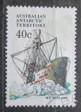 Poštovní známka Australská Antarktida 1981 Loď Kista Dan Mi# 48