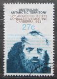 Poštovní známka Australská Antarktida 1983 Polární badatel Mi# 60