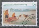 Poštovní známka Australská Antarktida 1984 Mawsonova expedice Mi# 63