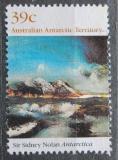 Poštovní známka Australská Antarktida 1989 Umění, Sidney Robert Nolan Mi# 84