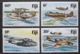 Poštovní známky Fidži 1981 Válečná letadla Mi# 448-51 Kat 11€