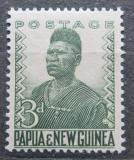 Poštovní známka Papua Nová Guinea 1952 Domorodý policista Mi# 5