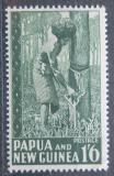 Poštovní známka Papua Nová Guinea 1952 Sběr kaučuku Mi# 16 Kat 12€