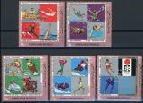 Poštovní známky Jemen 1970 Němečtí olympijští vítězové Mi# 1269-73 Kat 6€