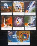 Poštovní známky Jemen 1970 Apollo 12, průzkum Měsíce Mi# 1129-35 Kat 8€