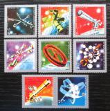 Poštovní známky Jemen 1970 Průzkum vesmíru Mi# 1174-80 Kat 7€
