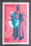 Poštovní známka Guinea 1962 Hudební nástroj - Boté Mi# 123