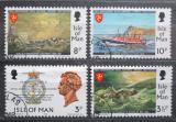 Poštovní známky Ostrov Man 1974 RNLI, 150. výročí Mi# 36-39