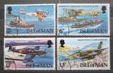 Poštovní známky Ostrov Man 1978 RAF, 60. výročí Mi# 118-21