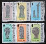 Poštovní známky Ostrov Man 1978 Evropa CEPT, památníky Mi# 122-27