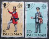Poštovní známky Ostrov Man 1979 Evropa CEPT, historie pošty Mi# 142-43
