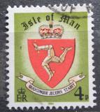 Poštovní známka Ostrov Man 1980 Státní znak Mi# 145 II