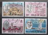 Poštovní známky Ostrov Man 1983 Univerzita King William´s College Mi# 242-45
