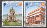 Poštovní známky Ostrov Man 1983 Světový rok komunikace Mi# 246-47