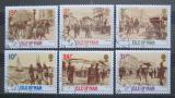 Poštovní známky Ostrov Man 1987 Historické scény Mi# 325-30