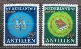Poštovní známky Nizozemské Antily 1969 Nezávislý soud, 100. výročí Mi# 202-03