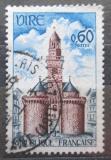 Poštovní známka Francie 1967 Městská brána ve Vire Mi# 1592