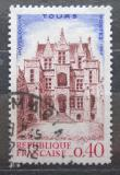 Poštovní známka Francie 1967 Hotel Goüin v Tours Mi# 1582