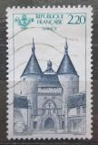 Poštovní známka Francie 1986 Porte de la Craffe, Nancy Mi# 2549