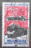 Poštovní známka Francie 1986 Technické muzeum v Mülhausen Mi# 2583