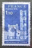 Poštovní známka Francie 1976 Katedrála Lodeve Mi# 1999
