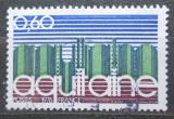 Poštovní známka Francie 1976 Region Aquitaine Mi# 1964