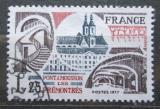 Poštovní známka Francie 1977 Opatství v Ponta-Mousson Mi# 2047