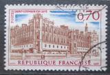 Poštovní známka Francie 1967 Zámek Saint-Germain-en-Laye u Paříže Mi# 1587