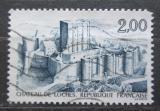 Poštovní známka Francie 1986 Zámek Loches Mi# 2552