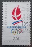 Poštovní známka Francie 1990 ZOH Albertville Mi# 2758