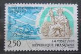 Poštovní známka Francie 1993 Státní pečeť Mi# 2954