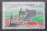 Poštovní známka Francie 1993 Zámek a kostel, Montbéliard Mi# 2975