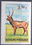 Poštovní známka Burundi 1964 Voduška velká neperf. Mi# 92 B