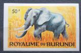 Poštovní známka Burundi 1964 Slon africký neperf. Mi# 100 B Kat 8€