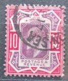 Poštovní známka Velká Británie 1902 Král Edward VII. Mi# 113 A Kat 40€
