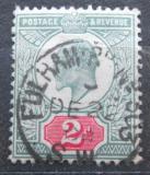 Poštovní známka Velká Británie 1902 Král Edward VII. Mi# 106 A Kat 6€