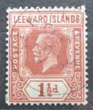 Poštovní známka Leewardovy ostrovy 1922 Král Jiří V. Mi# 63 II