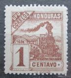Poštovní známka Honduras 1898 Lokomotiva Mi# 85