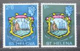 Poštovní známky Svatá Helena 1967 Nová ústava Mi# 182-83