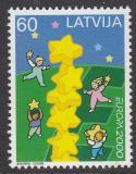 Poštovní známka Lotyšsko 2000 Evropa CEPT Mi# 519