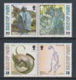 Poštovní známky Ostrov Man 1993 Evropa CEPT, moderní umění Mi# 546-49