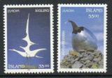 Poštovní známky Island 1993 Evropa CEPT, moderní umění Mi# 786-87 Kat 5€