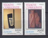 Poštovní známky Turecko 1993 Evropa CEPT, moderní umění Mi# 2984-85