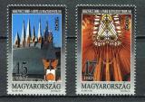 Poštovní známky Maďarsko 1993 Evropa CEPT, moderní umění Mi# 4241-42